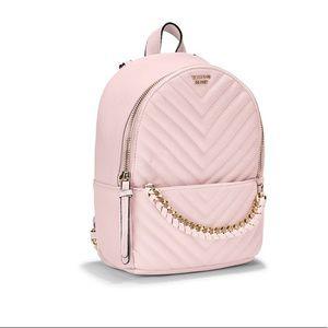 Victoria's Secret V-Quilt Small City Backpack